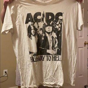 AC/DC tee